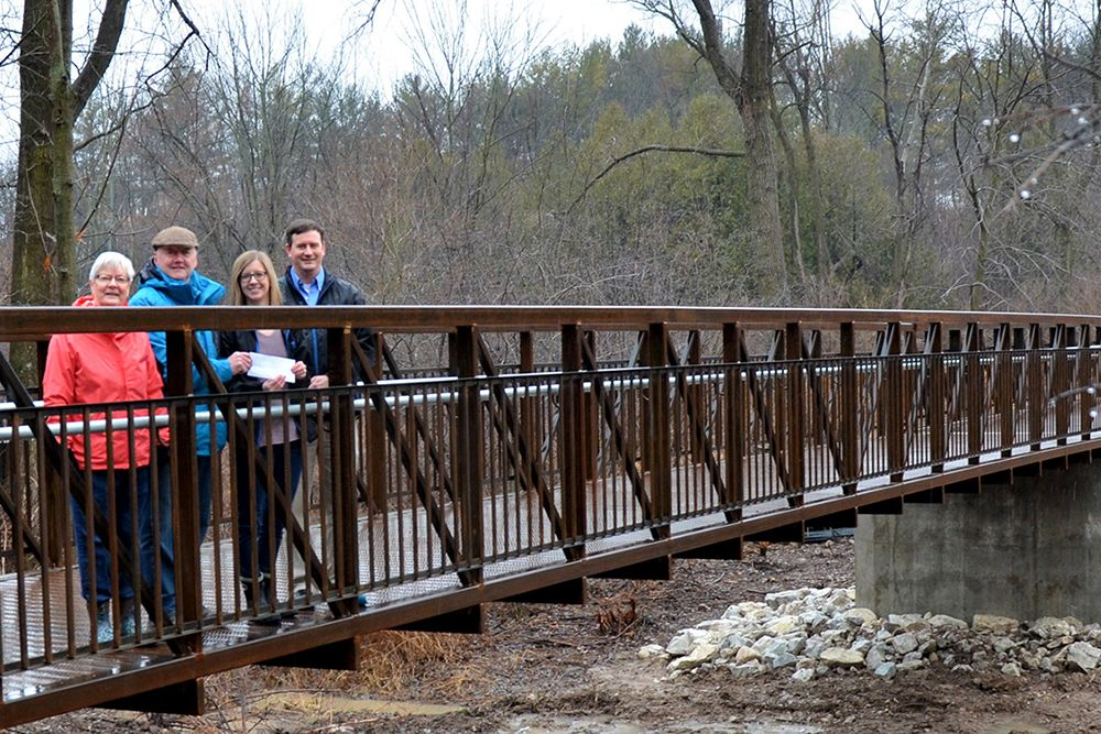Donation of $2,500 to Jones Bridge Project