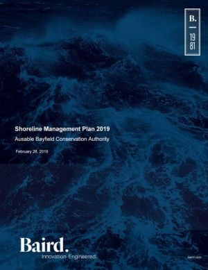 Shoreline Management Plan - Approved 2019