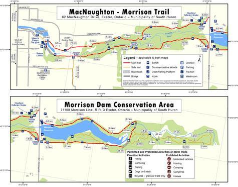 Morrison Dam map