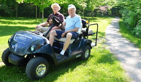 Our volunteer drivers give people with limited mobility the opportunity to experience nature.